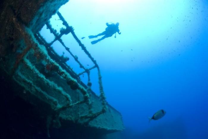 Dykning Cypern